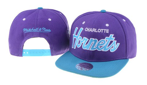 New Orleans Hornets NBA Snapback Hat 60D03