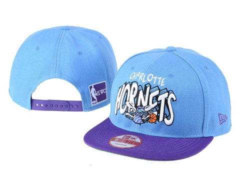 New Orleans Hornets NBA Snapback Hat 60D07