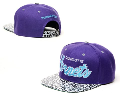 New Orleans Hornets NBA Snapback Hat 60D10