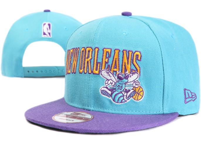 New Orleans Hornets NBA Snapback Hat XDF011