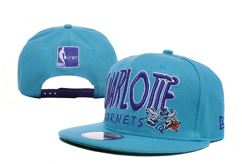New Orleans Hornets NBA Snapback Hat XDF124