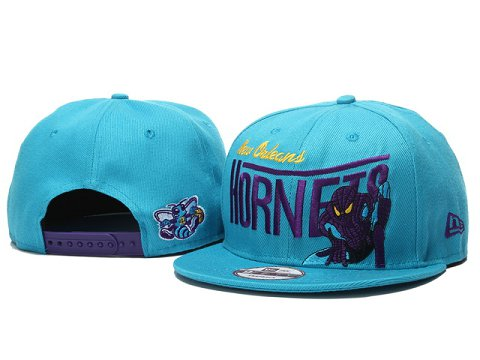 New Orleans Hornets NBA Snapback Hat YS048