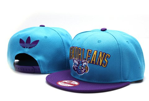 New Orleans Hornets NBA Snapback Hat YS099