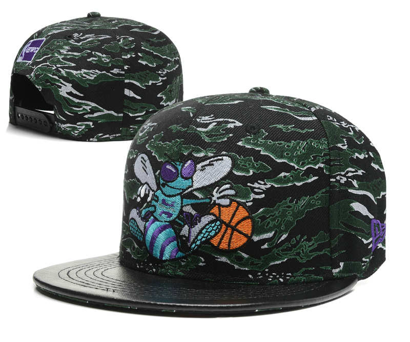 New Orleans Hornets Snapback Hat SD1 0512
