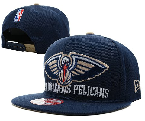 New Orleans Pelicans NBA Snapback Hat SD08