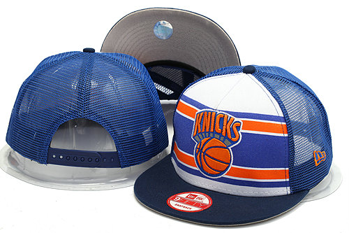 New York Knicks Mesh Snapback Hat YS 0528