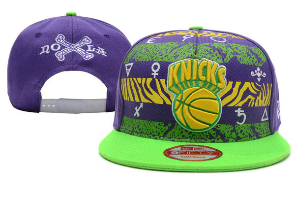 New York Knicks Snapback Hat XDF 1