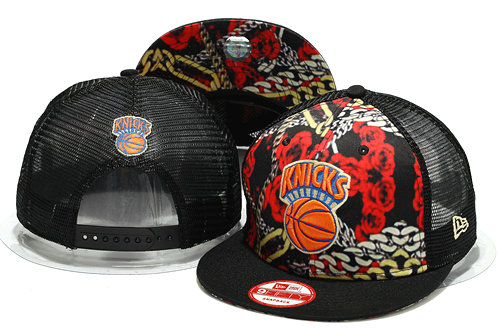 New York Knicks Mesh Snapback Hat YS 0701