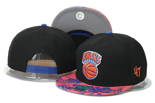 New York Knicks Snapback Black Hat 1 GS 0620