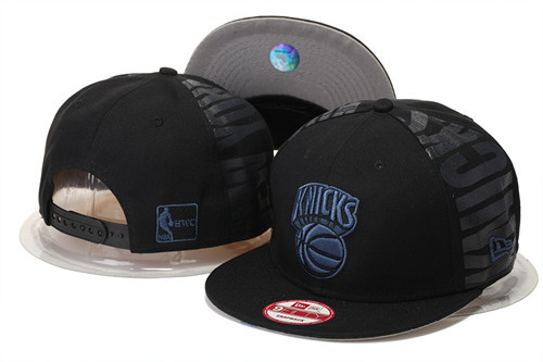 New York Knicks Snapback Black Hat GS 0620