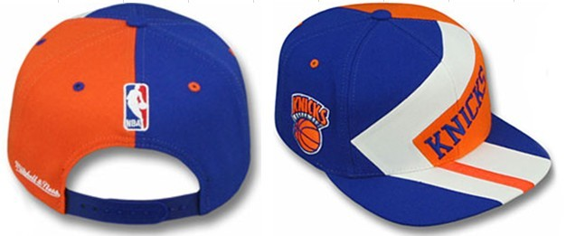 New York Knicks NBA Snapback Hat gf1
