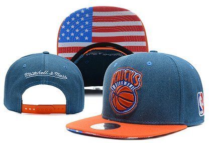 New York Knicks NBA Snapback Hat X-DF