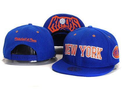 New York Knicks New Snapback Hat YS E41