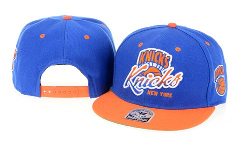 New York Knicks NBA Snapback Hat 60D02