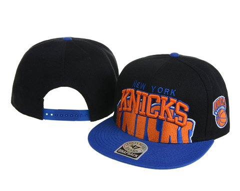 New York Knicks NBA Snapback Hat 60D07