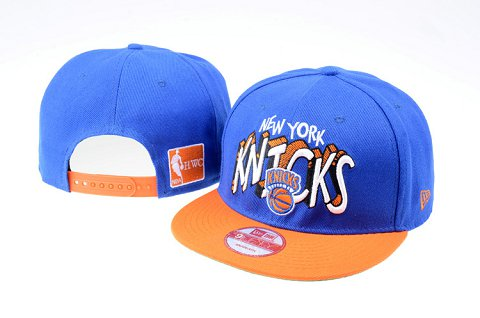 New York Knicks NBA Snapback Hat 60D11