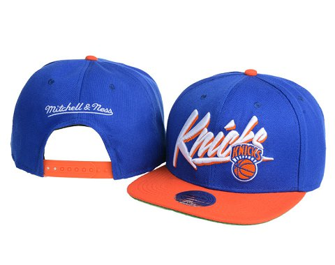 New York Knicks NBA Snapback Hat 60D12