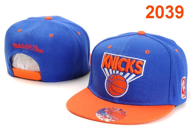 New York Knicks NBA Snapback Hat PT022