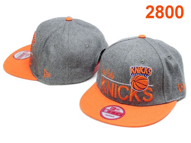 New York Knicks NBA Snapback Hat PT096