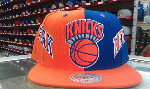 New York Knicks NBA Snapback Hat SD04