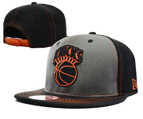 New York Knicks NBA Snapback Hat SD05