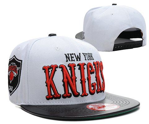New York Knicks NBA Snapback Hat SD06