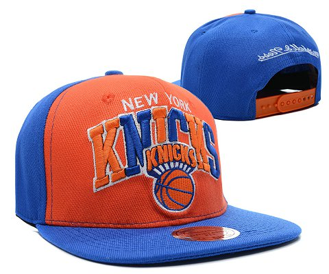 New York Knicks NBA Snapback Hat SD08
