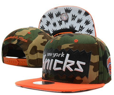 New York Knicks NBA Snapback Hat SD15