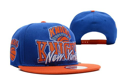 New York Knicks NBA Snapback Hat TY120