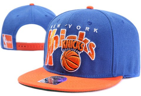 New York Knicks NBA Snapback Hat XDF072