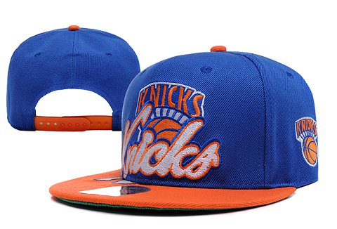 New York Knicks NBA Snapback Hat XDF078