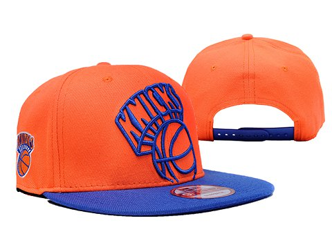 New York Knicks NBA Snapback Hat XDF084