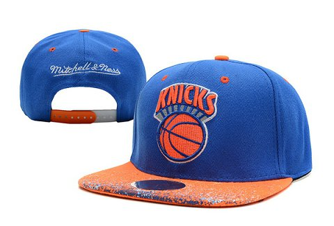 New York Knicks NBA Snapback Hat XDF266
