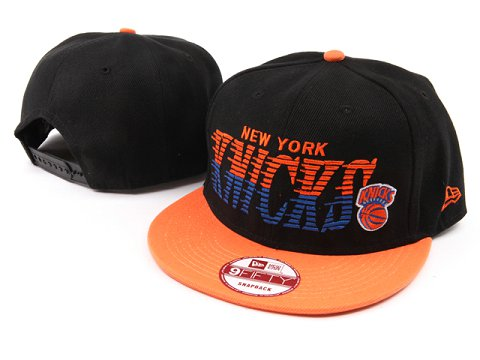 New York Knicks NBA Snapback Hat YS040