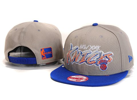 New York Knicks NBA Snapback Hat YS291