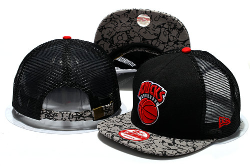 New York Knicks Mesh Snapback Hat YS 0512