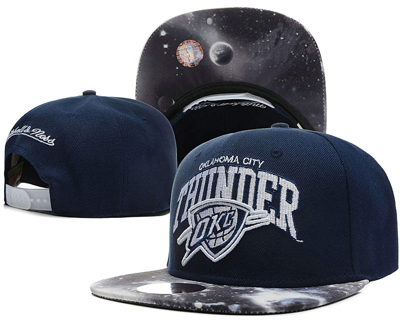 Oklahoma City Thunder D.Blue Snapback Hat SD