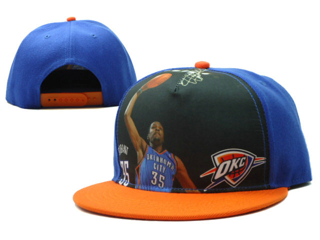 Oklahoma City Thunder Snapback Hat SF 0528