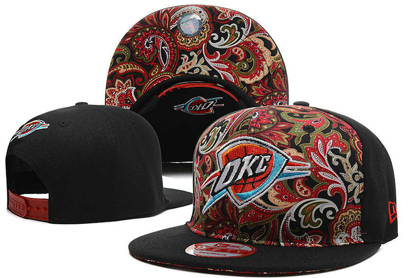 Oklahoma City Thunder Snapback Hat DF 0613
