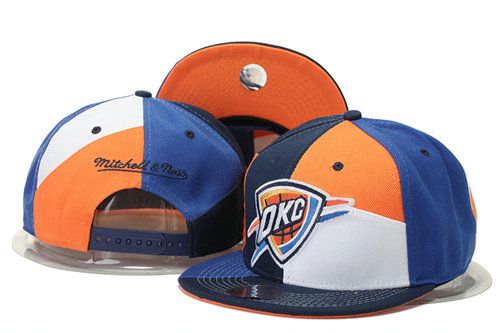 Oklahoma City Thunder Snapback Hat 1 GS 0620