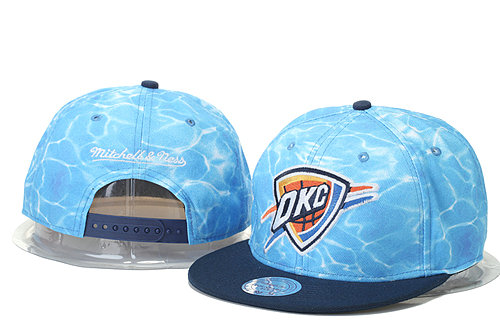 Oklahoma City Thunder Snapback Hat GS 0620