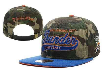 Oklahoma City Thunder NBA Snapback Hat XDF-A