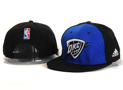 Oklahoma City Thunder New Snapback Hat YS E14