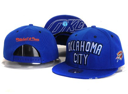 Oklahoma City Thunder New Snapback Hat YS E45