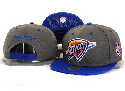 Oklahoma City Thunder New Snapback Hat YS E49