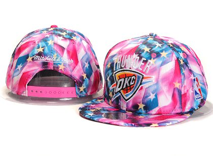 Oklahoma City Thunder New Type Snapback Hat YS U8701