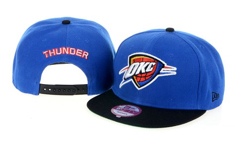 Oklahoma City Thunder NBA Snapback Hat 60D2
