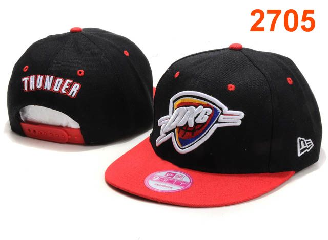 Oklahoma City Thunder NBA Snapback Hat PT087