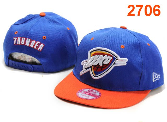 Oklahoma City Thunder NBA Snapback Hat PT088