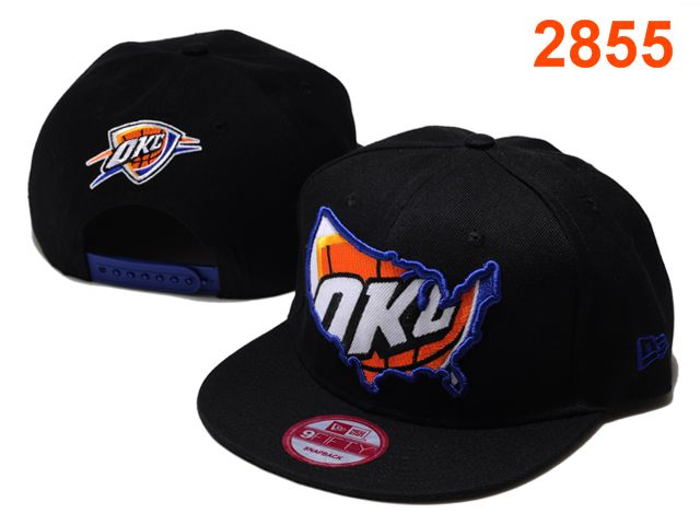 Oklahoma City Thunder NBA Snapback Hat PT110